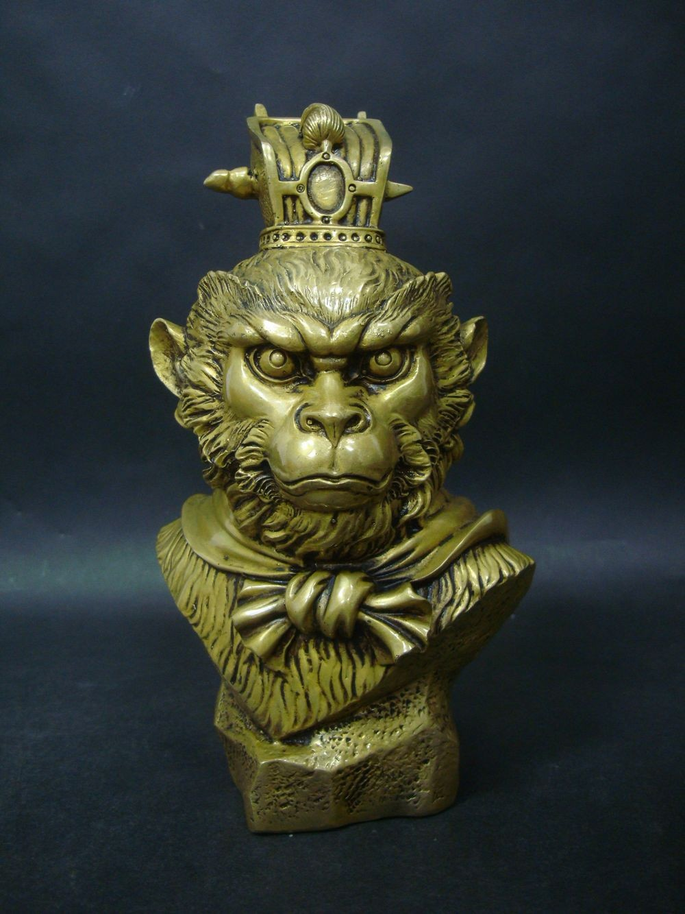 Very Rare Old Chinese Golden Bronze